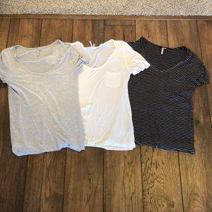Lot of 3 Banana Republic Short Sleeve Shirts, M